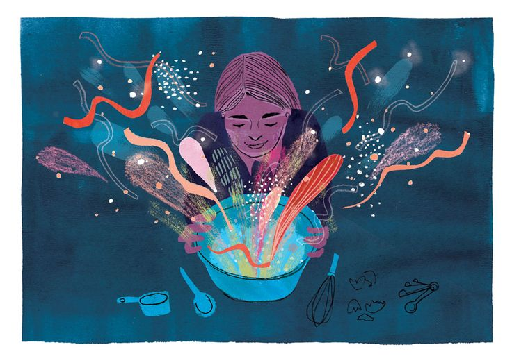 magic cooking illustration penelope dullaghan