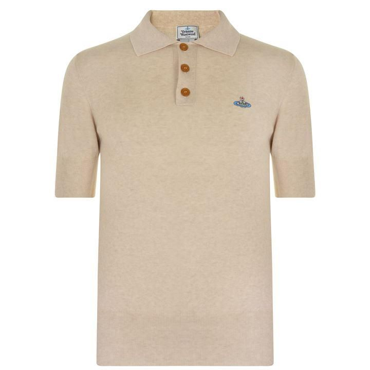 Vivienne Westwood Man Knitted Polo Shirt