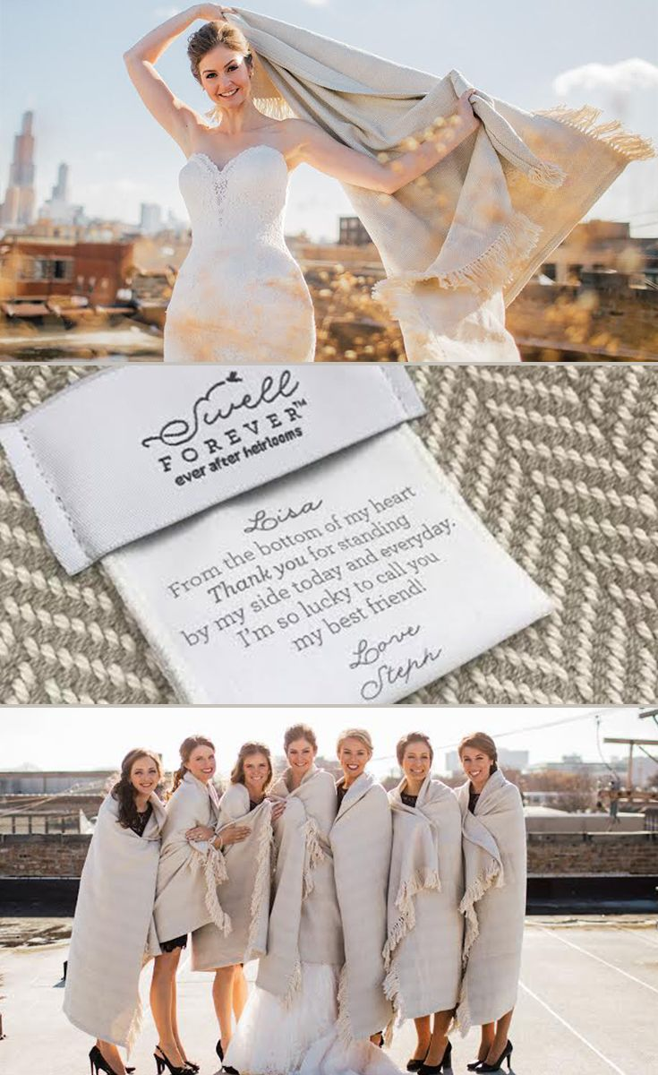 Forever BlanketR By Swell Heirloom Gifts For Bridesmaids Mother Of The Bride Or Groom
