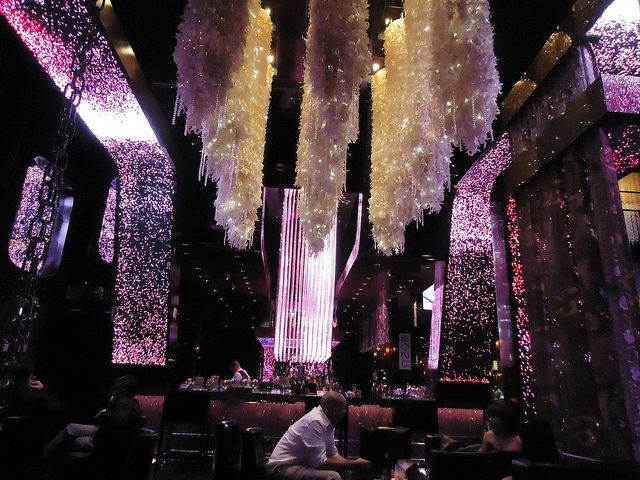 chandeliers at the Cosmopolitan Las Vegas
