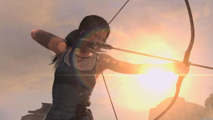 Tomb Raider Definitive Edition PS4   Archery (painting ...