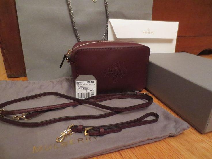 5e0e2e35ea ... where can i buy mulberry blossom pochette bag mulberry blossom leather  pochette crossbody camera wristlet oxblood