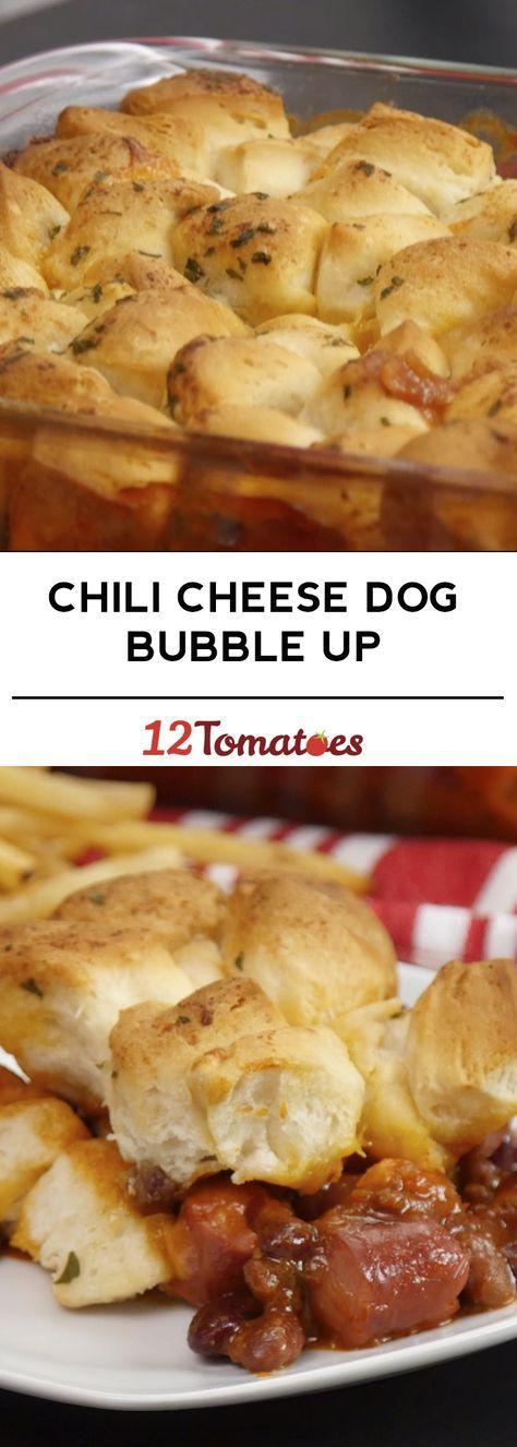 Chili Cheese Dog Bubble Up