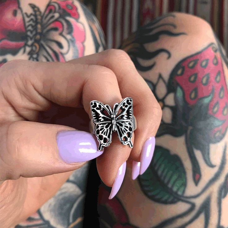 Shady Lady Butterfly Ring