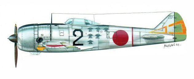 Nakajima Ki-44-II Hei «Tojo» «Negro 2», piloto Makoto Ogawa, 70. Sentai, 3° Chútai, Base Aérea de Kashiwa, Japón, junio de 1945. Lleva las marcas de victorias sobre B-29 a un lado del fuselaje. http://www.elgrancapitan.org/foro/viewtopic.php?f=52&t=17924&p=915165#p915165