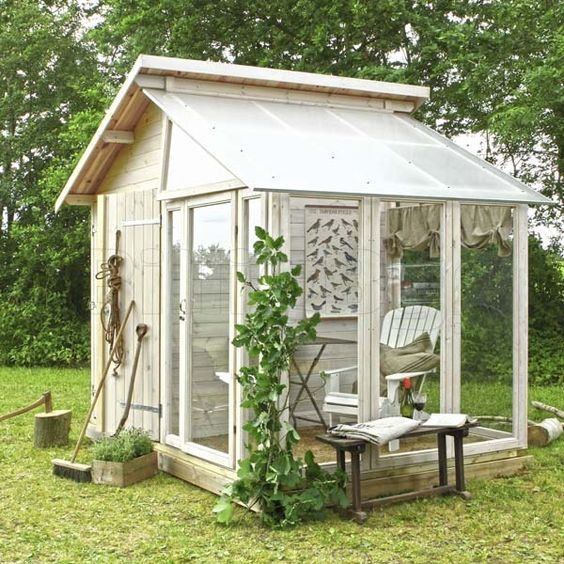 Garden Shed Plans U2013 Learn How To Build Your Own Shed