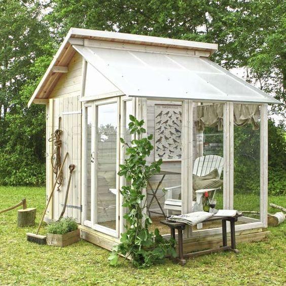 Drivhus med redskabsrum - Byg dit eget drivhus