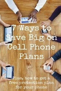 Don't pay more than you have to for your cell phone -- here are 7 ways to save on your monthly cell phone bill!