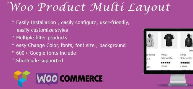Woo Product Multi Layout for WooCommerce 3