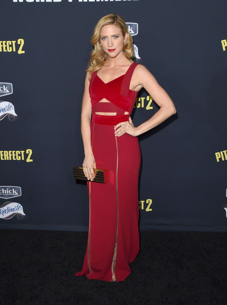 """Brittany Snow Photos Photos - Actress Brittany Snow  arrives at the World Premiere of """"Pitch Perfect 2"""" held at the Nokia Theatre L.A. Live on Friday, May 8, 2015, in Los Angeles. - Premiere Of Universal Pictures' 'Pitch Perfect 2' - Arrivals"""