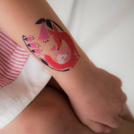 tatouages Fox