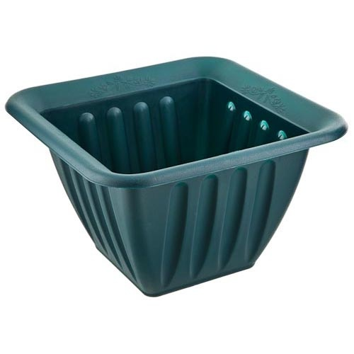 38Cm Square Green Planter