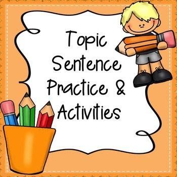 25+ best ideas about Topic sentences on Pinterest | Paragraph ...