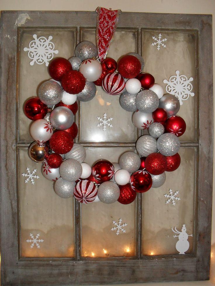 Christmas Window Pane