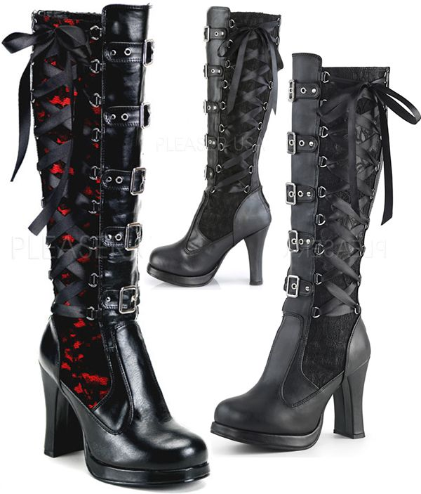 823d8c5706 Demonia Crypto 106 | Gothic Shoes, Boots and Heels | Gothic shoes,  Steampunk shoes, Goth shoes