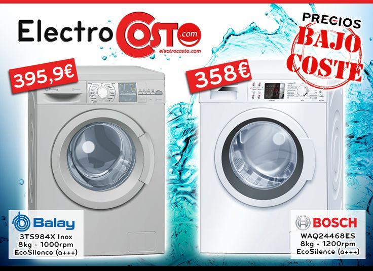 #Ofertas de #lavadoras a precios bajo coste.
