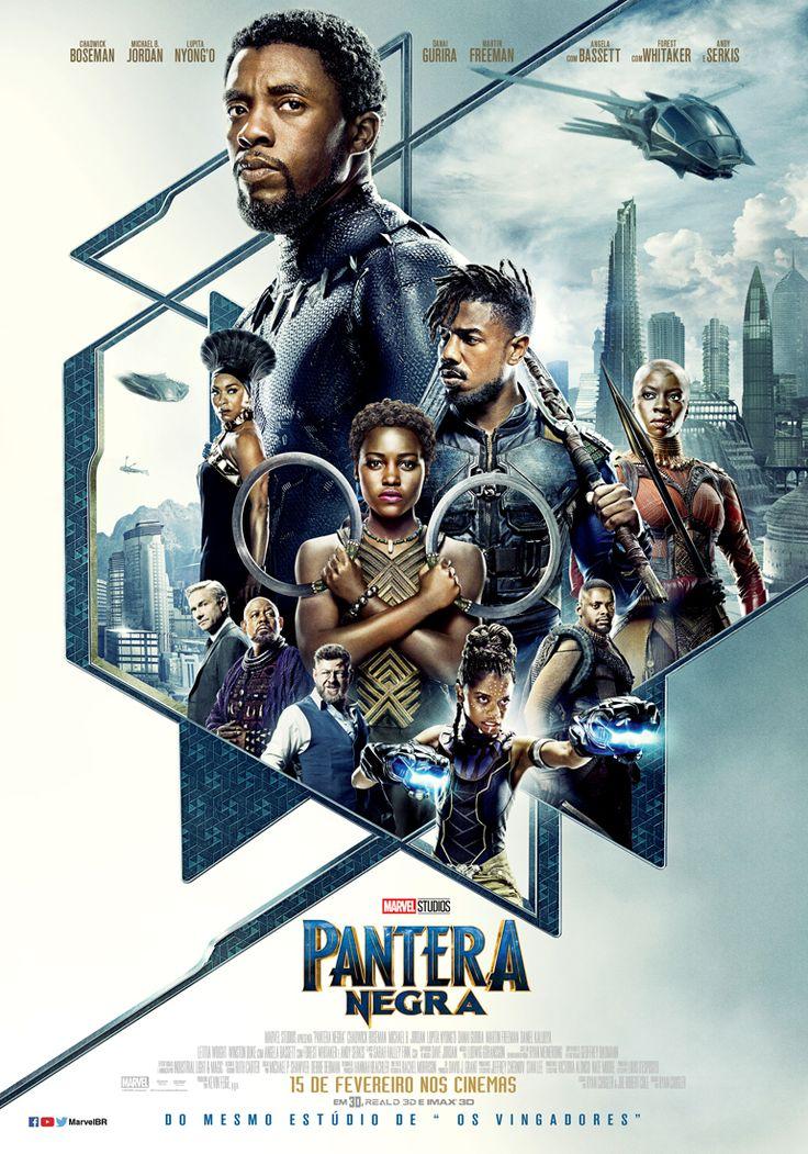 Foi divulgado o cartaz nacional dePantera Negra, longa da Marvel Studios dirigido porRyan Coogler que estreia no Brasil dia 15 de fevereiro de 2018: