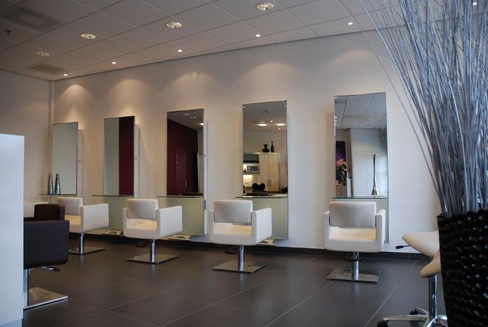 Kapsalon kapsalon pinterest interieur zoeken en met for Kappers interieur