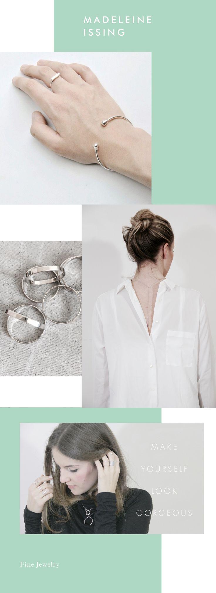 Silberschmuck - hochwertiger Modeschmuck - MADELEINE ISSING