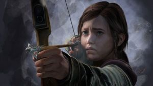 Preview wallpaper the last of us, ellie, girl, bow, arrow 1920x1080
