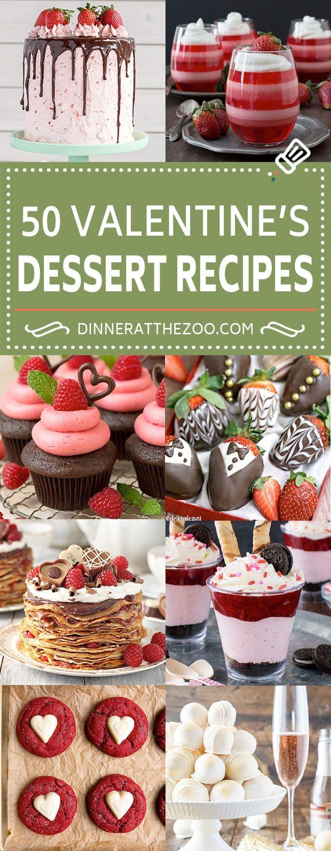 50 Valentine's Day Dessert Recipes