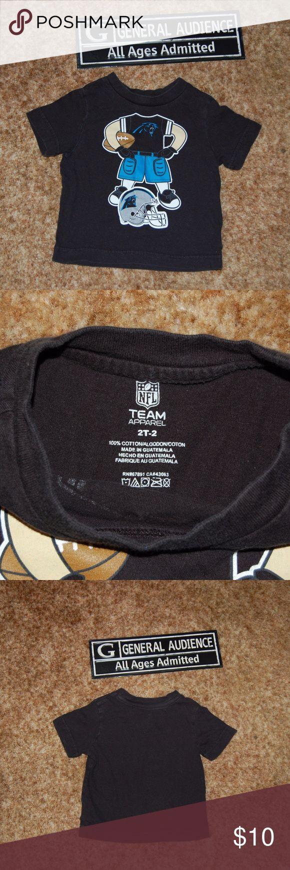 NFL Team Apparel Carolina Panthers NFL Shirts & Tops Tees - Short Sleeve