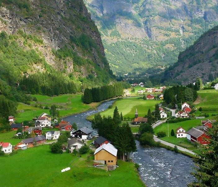 Norway. This is absolutely beautiful!