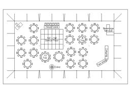 Floor Plan For Wedding Reception With 150 Guests