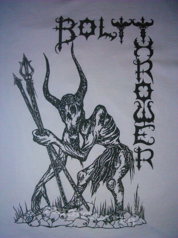 Bolt thrower metal artwork death metal metal albums
