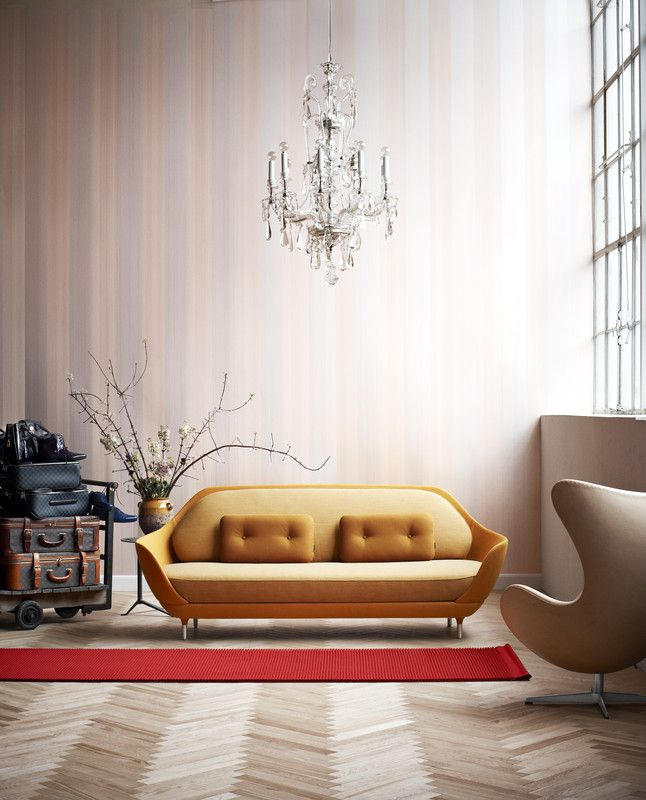 Favn Sofa, designed by Jaime Hayon for Republic of Fritz Hansen. Get The Originals at www.2ndfloor.gr