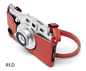 CASE & STRAP RED