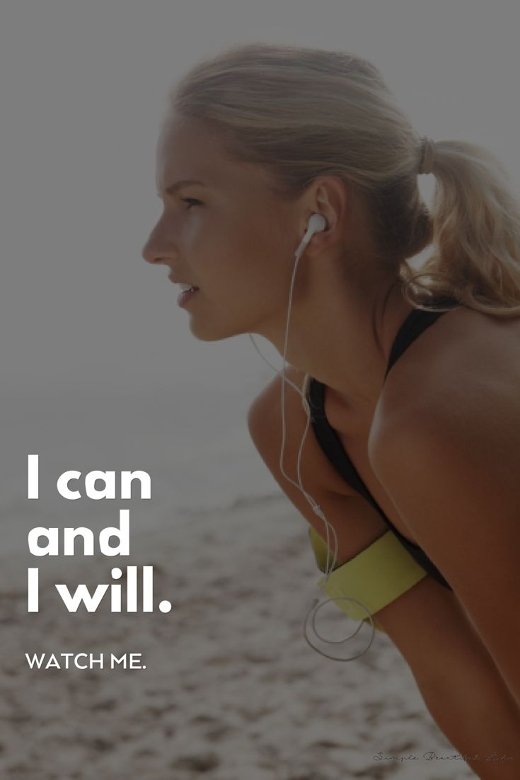 Girl running with Earbuds. #Fitness #HealthyLiving