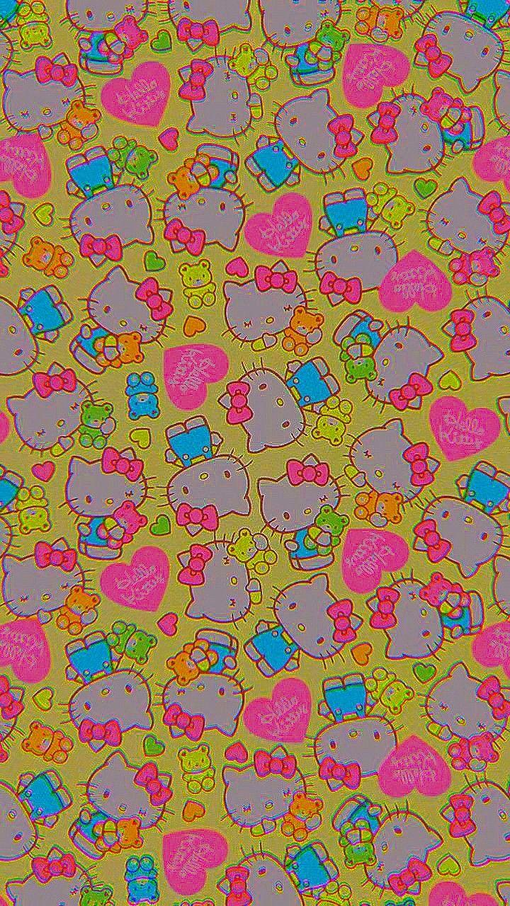 fondo de Kitty ☻ in 2020 Cute patterns wallpaper, Indie