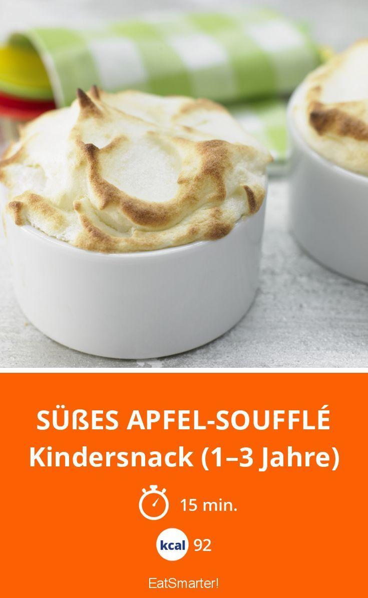 Süßes Apfel-Soufflé - Kindersnack (1–3 Jahre) - smarter - Kalorien: 92 Kcal - Zeit: 15 Min. | eatsmarter.de
