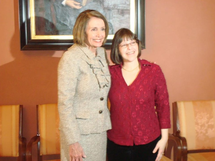Through my blog, I was invited to Washington, D.C. to advocate for health care reform. After speaking at a national press conference, I got to hang out with Speaker Nancy Pelosi. (Just long enough to get a photo.)
