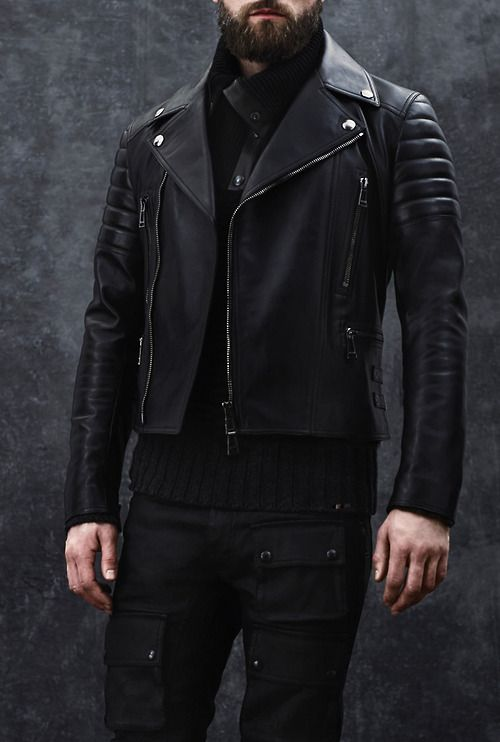 Belstaff Fall-Winter 2014 Men's Collection closeup of jacket.