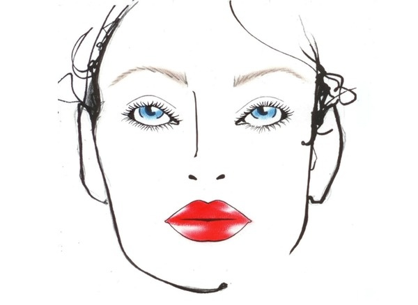 10 best face chart images on pinterest