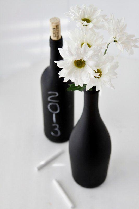 co zrobić z butelki po winie #DYI, #wine bottle