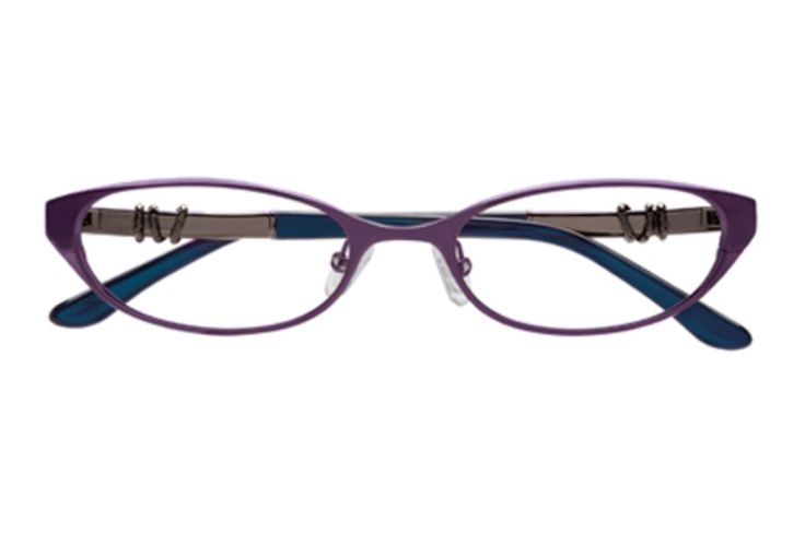 BCBG Max Azria Kennedy Eyeglasses in Eggplant (EGG)