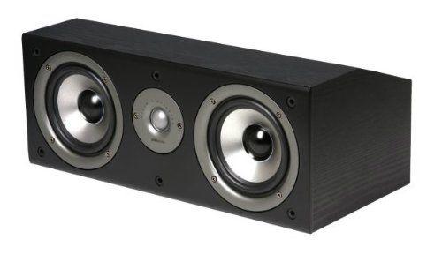 Polk Audio AM1582-A CS1 Series II Center Channel Speaker (Black) Each