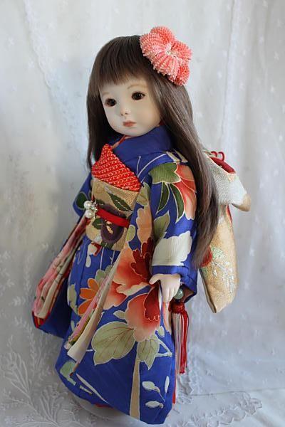 Beautiful Japanese doll