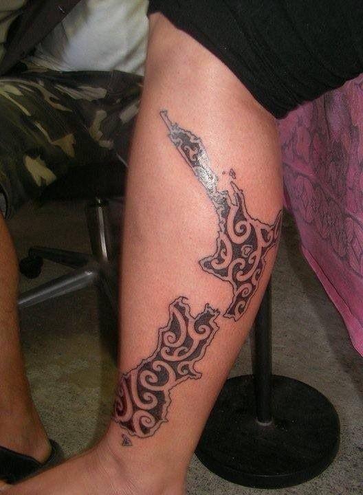 31 Incredible Map Tattoos