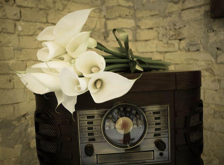 Retro style & Calla lilies
