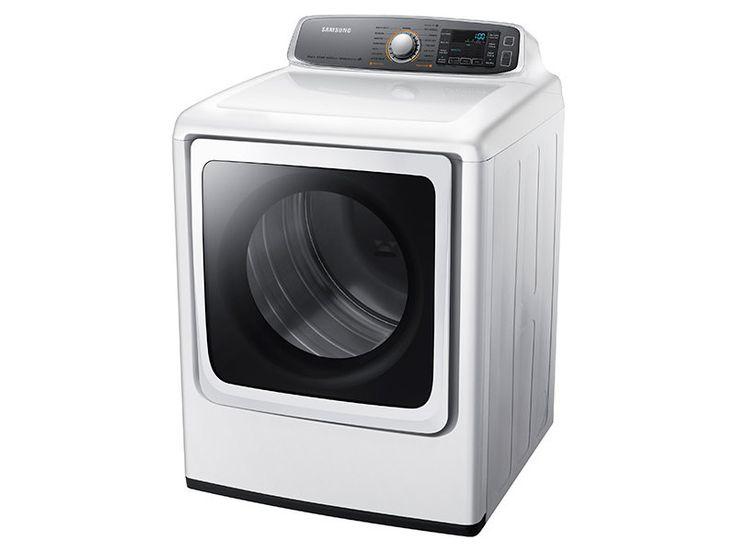 DV9000 9.5 cu. ft. Gas Dryer Dryers - DV56H9000GW/A2 | Samsung US