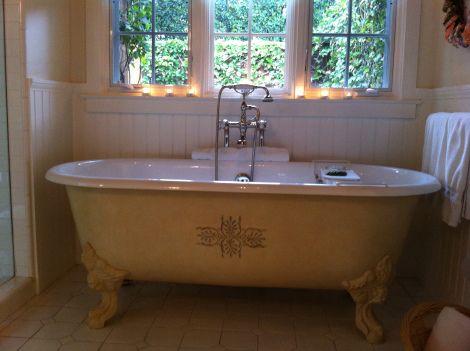 Bathtub at San Ysidro Ranch