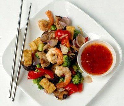 Рецепты китайской кухни салат из китайской лапши фунчеза