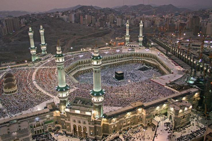 Saudská Arábia mekka mešita