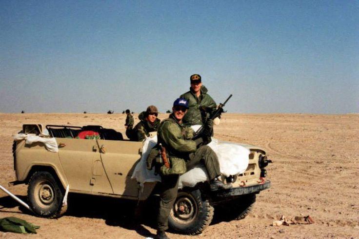 Sighting of seized UAZ 469 Gulf War.