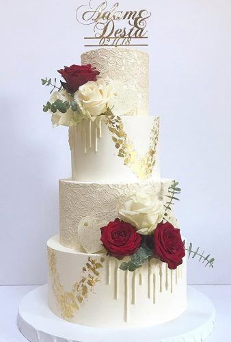30 Beautiful Wedding Cakes The Best From Pinterest Gorgeous
