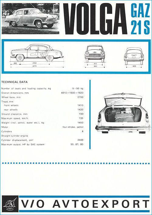 GAZ - 21 1969